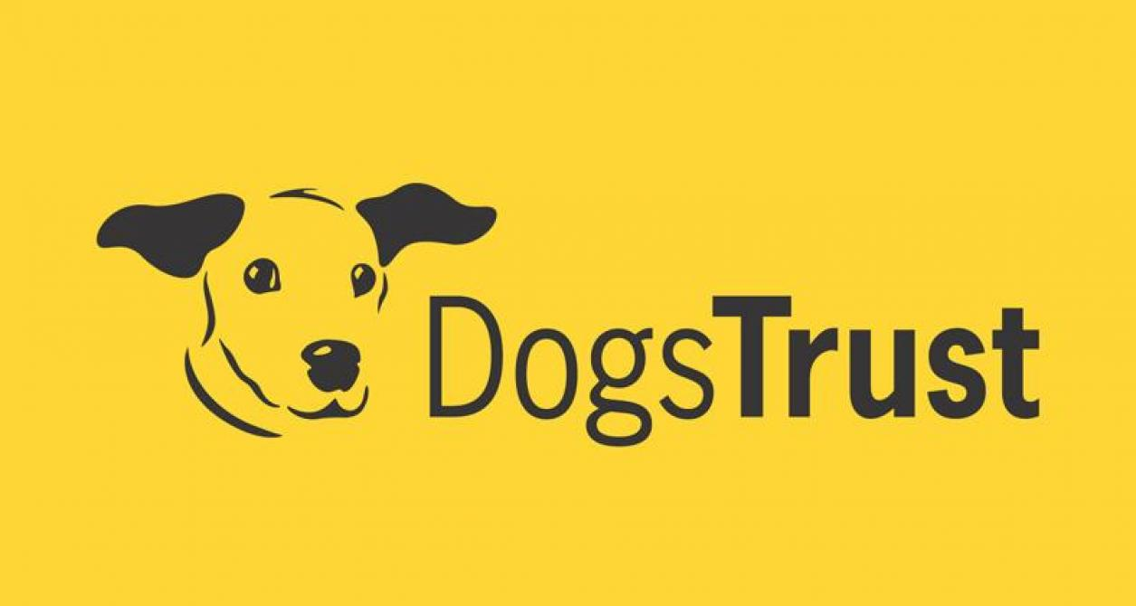 """A tail of true love"" brought to you by the Dogs Trust..."